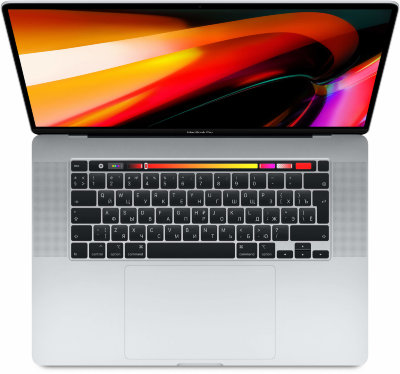 "Ноутбук MacBook Pro 16"" 8 Core i9 2,3 ГГц, 16GB, 1TB SSD, AMD RPro 5300M, серебристый"