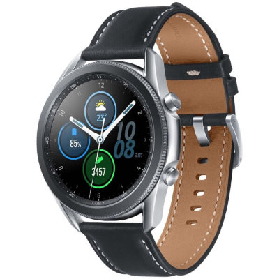 Смарт-часы Samsung Galaxy Watch 3 45мм (серебристые)