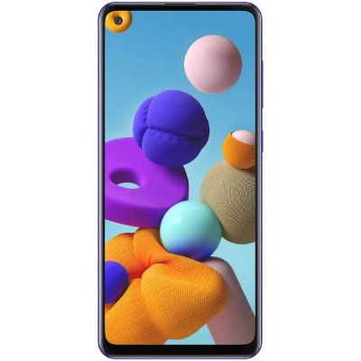 Смартфон Samsung Galaxy A21s 3/32GB (синий)