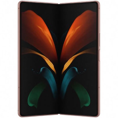 Смартфон Samsung Galaxy Z Fold 2 12/256GB (бронза)