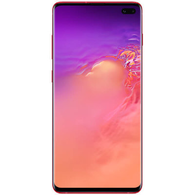 Смартфон Samsung Galaxy S10 Plus 128GB (гранат)