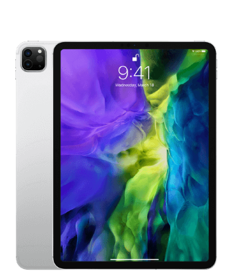 Планшет iPad Pro 11″ 128GB Wi-Fi + Cellular (серебристый)