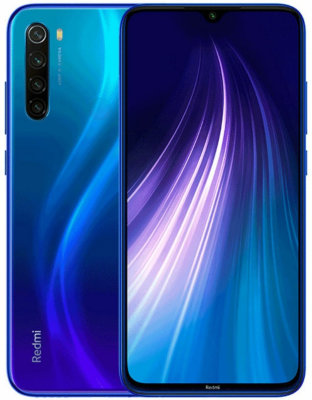 Смартфон Xiaomi Redmi Note 8 4/64 GB (синий) Global Version