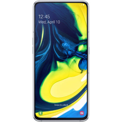 Смартфон Samsung Galaxy A80 8/128Gb (2019) Серебристый