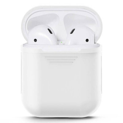 Чехол для Apple AirPods (белый)