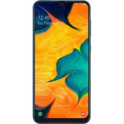 Смартфон Samsung Galaxy A30 3/32GB (синий)
