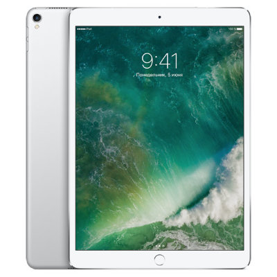 Планшет Apple iPad Pro 10.5 64 GB LTE 2017 (серебристый)
