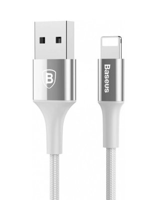 Кабель USB Baseus Lightning Shining With Jet Metal and Light 2 A 1 м