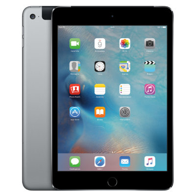 Планшет Apple iPad Mini 4 Wi-Fi 128GB (серый космос)