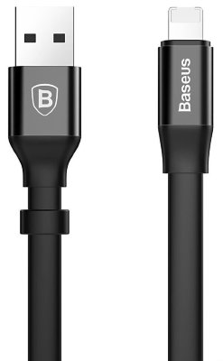 Кабель Baseus 2 in 1 Portable USB - Lightning и micro USB 0.23 м