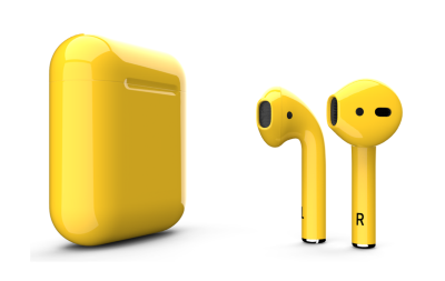 Apple AirPods Color Yellow