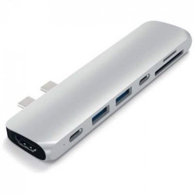 "USB-хаб Satechi Aluminum Type-C Pro Hub Adapter для MacBook Pro 13""/15"""