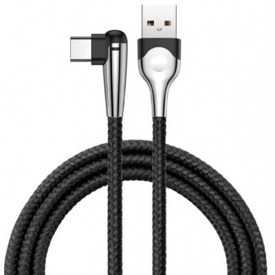 Кабель Baseus sharp-bird mobile game cable USB для Type-C 3 A 1 м (черный)
