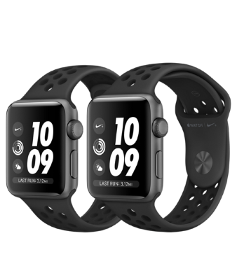 Умные часы Apple Watch Nike+ 38mm Antracite Black Band