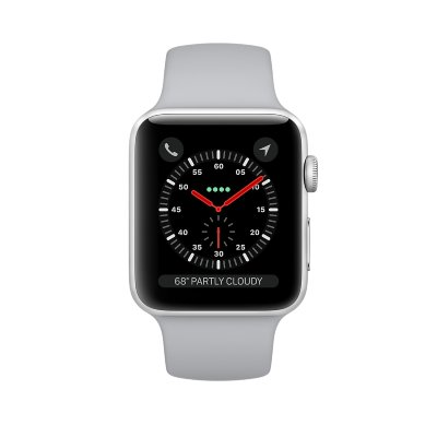 Умные часы Apple Watch Sport S3 38 mm (серебристый)
