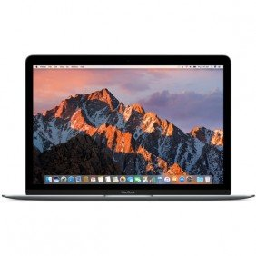 "Ноутбук Apple MacBook 12""  MNYG2 (серый космос)"