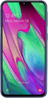 Смартфон Samsung Galaxy A40 4/64Gb Синий