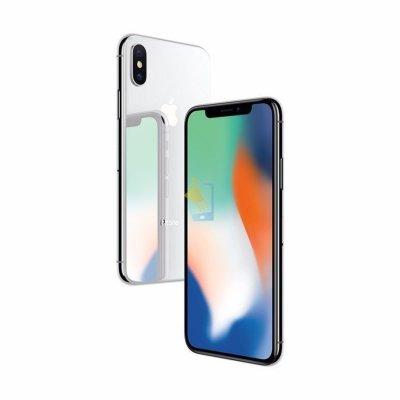 Смартфон Apple iPhone X 256 GB (серебристый)